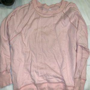 Pink weekend sweater